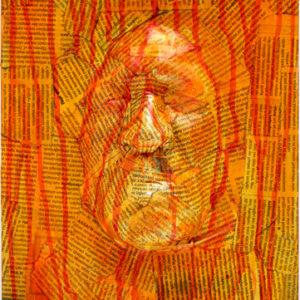 G 3D 14 Gregos Athène 2014 plâtre-résine sur toile 50x25x10 cm