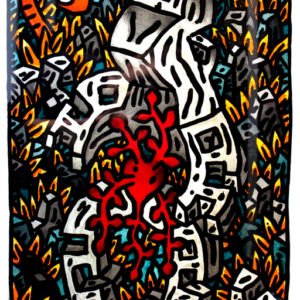 Speedy Graphito Tentation 2009 67x50 cm