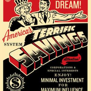 America's Savings POSTER