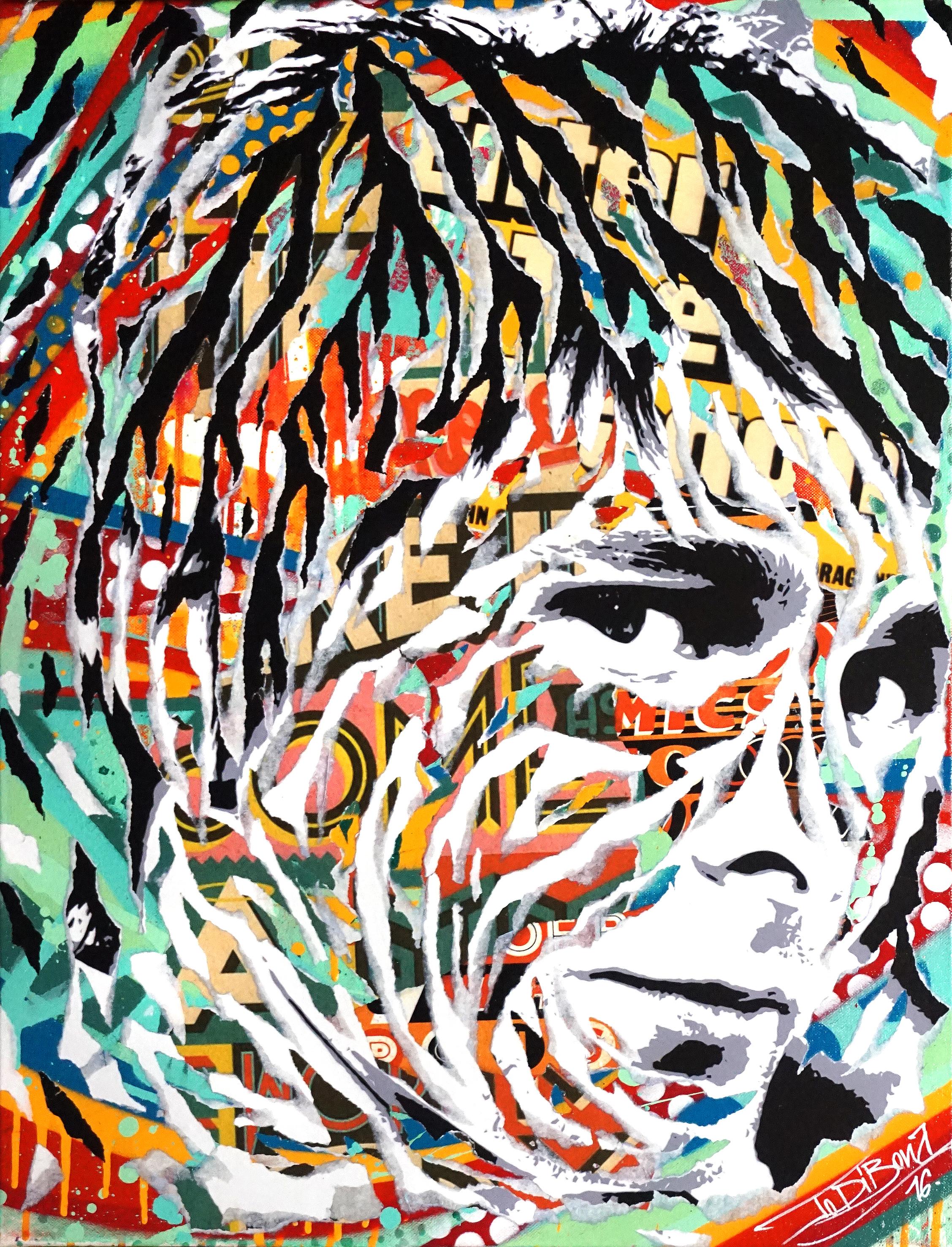 product Urban_CITIZEN ERASED by Jo Di Bona 2016 50×65 technique mixte sur toile