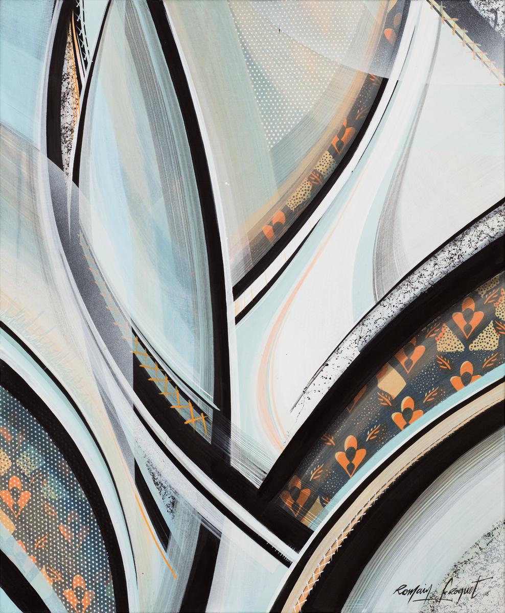 product Royal, Acrylique sur toile, 73×60 cm, 2018_Low