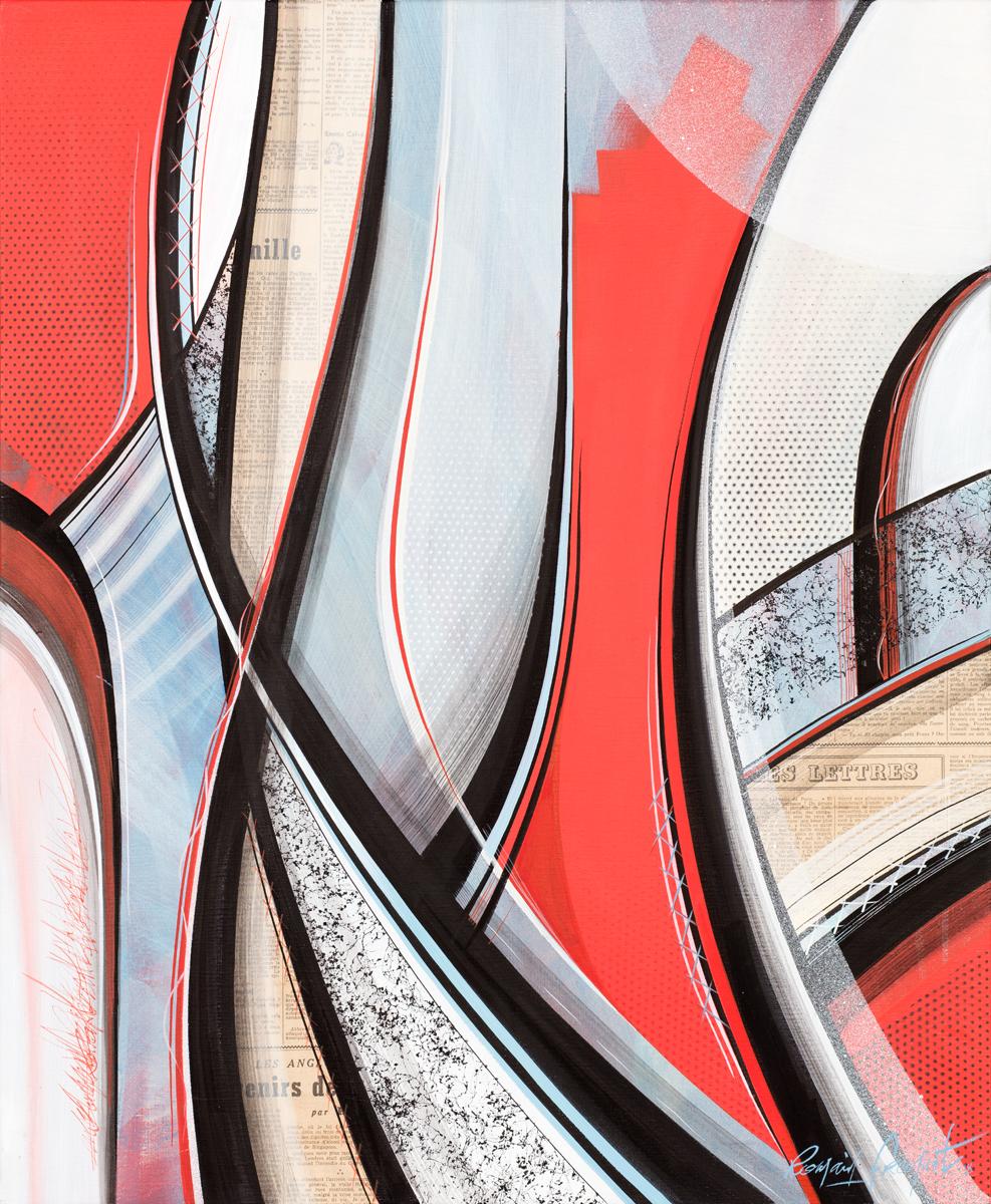 product Souvenirs, Acrylique sur toile, 73×60 cm, 2018_Low